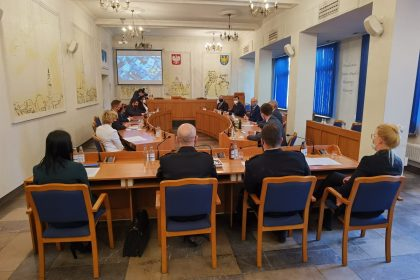 Wizyta ministra klimatu i środowiska Michała Kurtyki