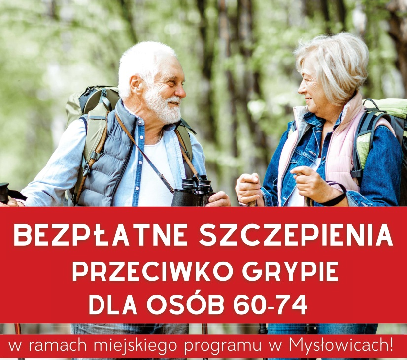 Bezpłatne szczepienia przeciwko grypie dla seniorów