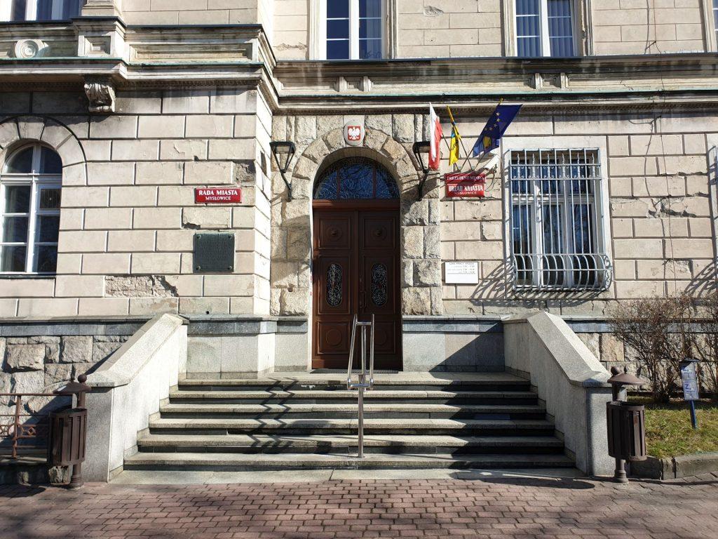 Wejście B do urzędu