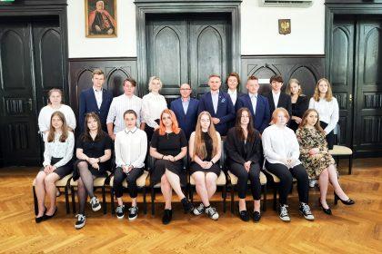 Sesja inauguracyjna Młodzieżowej Rady Miasta Mysłowice VII kadencji