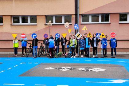 Dzień Edukacji Narodowej oraz otwarcie aktywnej strefy wypoczynku w Szkole Podstawowej nr 1