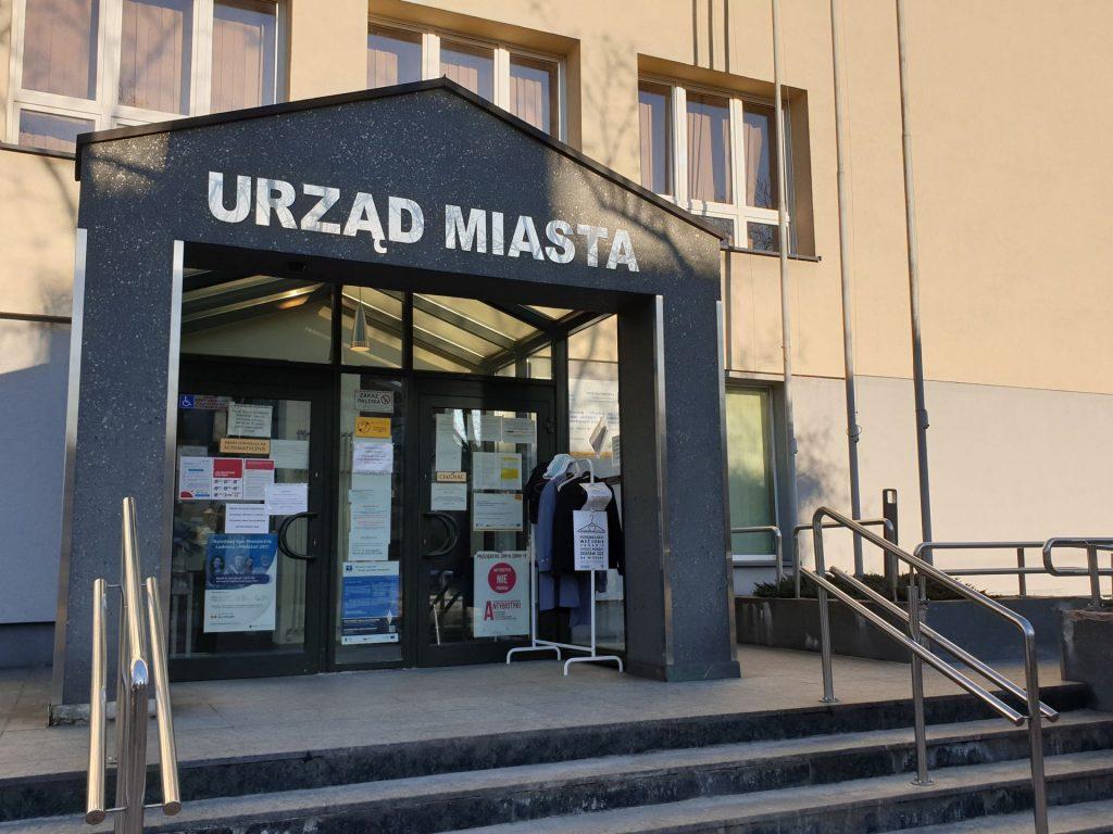 Wejście główne do Urzędu Miasta Mysłowice