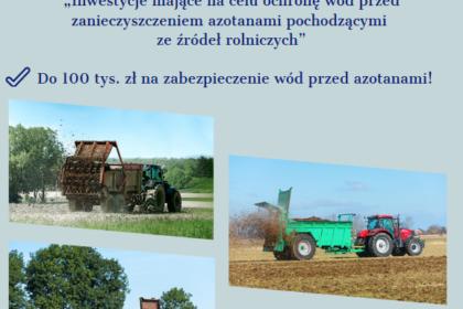 Chroń wody przed azotanami pochodzenia rolniczego