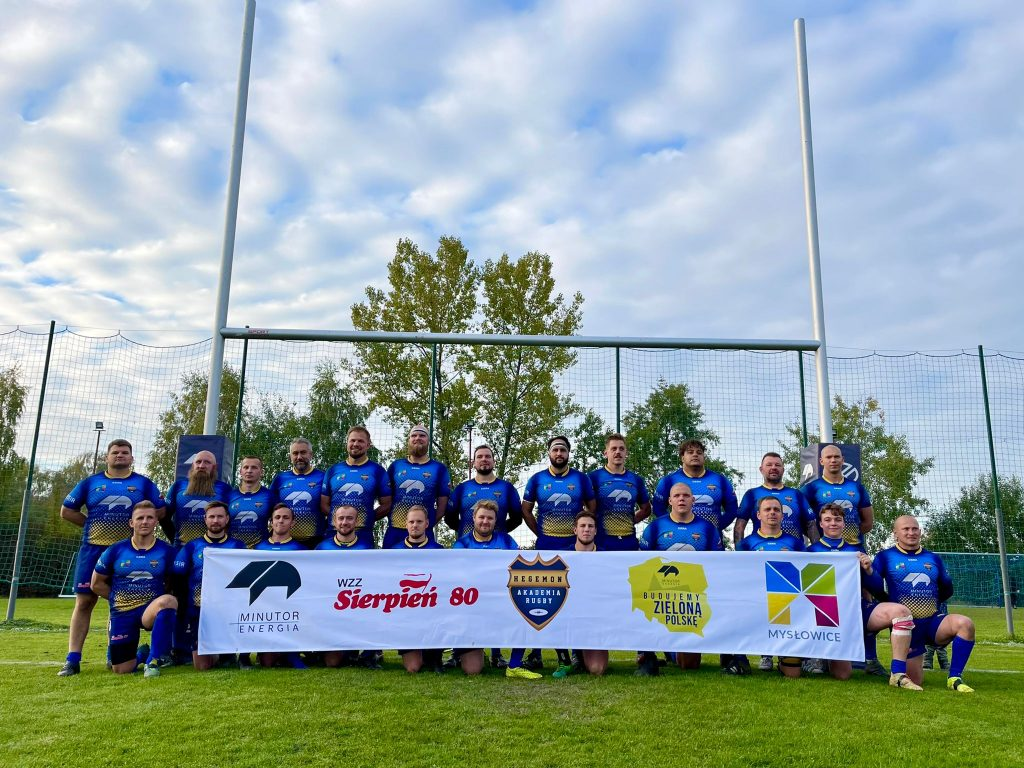 Mecz ligowy Hegemon Akademia Rugby