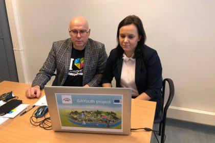 Konferencja on-line otwierająca projekt SAYouth
