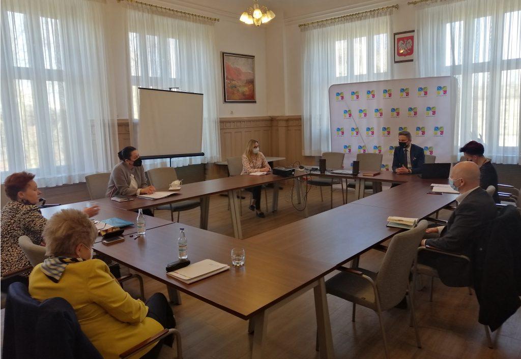 Spotkanie dot. przeprowadzenia matur w Mysłowicach